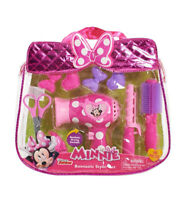 NEW: Disney Minnie Bowtique Hairstyling Tote/ow-rific Bag Set.jp