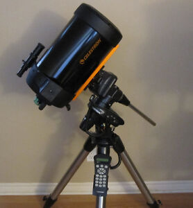 CELESTRON C8-SGT WITH TRIPOD AND COMPUTERIZED MOUNT