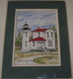 Set of  2 Collectors Series Great American Light House Prints London Ontario image 3