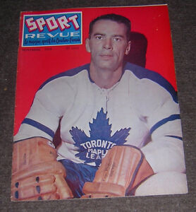 BERT OLMSTEAD TORONTO MAPLE LEAFS - COPY OF COVER