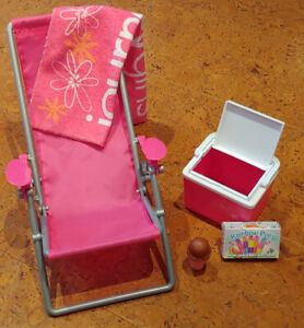 American Girl/Canadian doll/Journey Girl/ 18 inch doll beach set