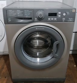 Silver Hotpoint Washing Machine - Free local delivery and fitting