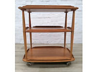 Ercol Blonde Drinks Trolley (DELIVERY AVAILABLE)