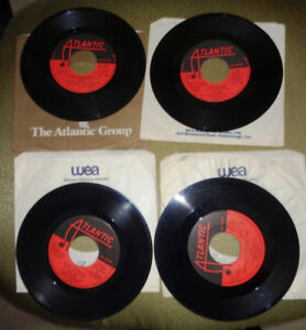 45 Rpm Atlantic AC/DC Back In Black Highway To Hell You Shook Me
