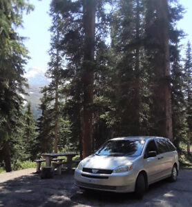 Converted TOYOTA SIENNA ready for road trip