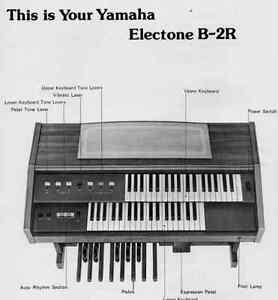 Yamaha Model# B-2R Electronic Piano