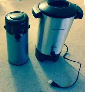 42 Cup Urn by Hamilton Beach Cofee Maker and Thermos