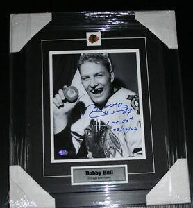 Bobby Hull Authentic Signed Photo Professionally Framed Edmonton Edmonton Area image 1