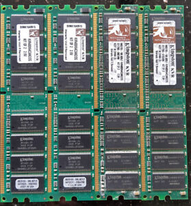 Kingston 4GB 400MHz DDR Non-ECC CL3 (3-3-3) DIMM-KVR400X64C3AK2