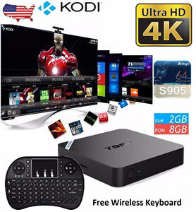 $125 for 2GB/8GB Model - ONLY KODI BOX w/ Live TV GUIDE!!!