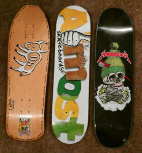 Collectable skateboards