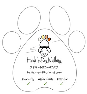 Heidi's Dog Walking ~ Friendly, Flexible, & Affordable