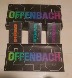 Coffret Cassettes Offenbach 2-4-6