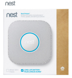 Nest Protect 2nd Gen Smoke Carbon Monoxide Alarm - Wired