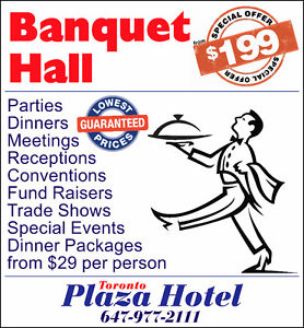 Banquet Hall - from $199.00 - Toronto - Best Service & Price