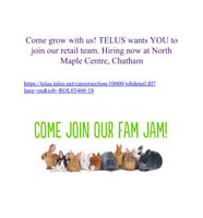 Join the Chatham Telus Family.