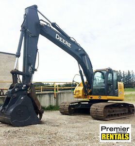 UP TO 22 TON EXCAVATORS AVAILABLE FOR RENT NOW!