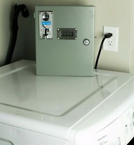 Cheap coin washing machine - save money on your water bill