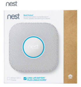Nest Protect Wi-Fi Smoke & Carbon Monoxide Alarm (Battery)