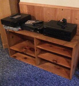 Shelving unit- wood, good condition
