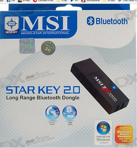 Star Key 2.0 Long Range Bluetooth Dongle - NIB - $30.00