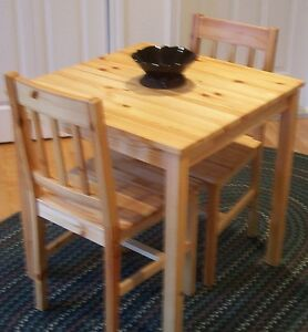 Small Table & 2 Chairs