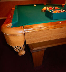 Excellent OlHausen POOL TABLE All the Bells + Whistles!