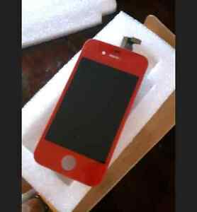 Red Screen for IPhone 4