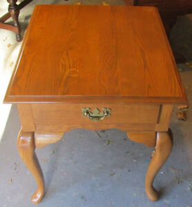 Solid walnut end table 4 sale