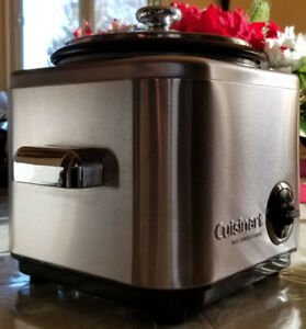 Cuisinart CRC-400 Rice Cooker,Stainless steel 4-Cup