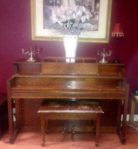 Older Wooden Piano