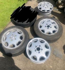 Mercedes alloy wheels Monoblock AMG