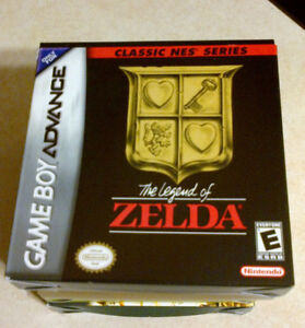 Legend of Zelda NES Classic Series for Gameboy Advance