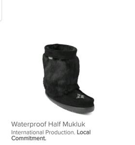 Looking for these manitobah mukluks!