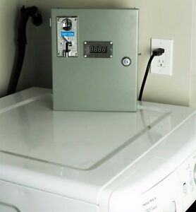 Save money on your water bill - coin operated washer