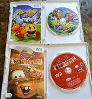 WII GAMES—CARS---PAC-MAN PARTY