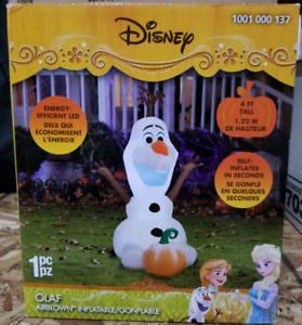 Disney Olaf Inflatable NEW