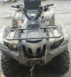 2014 camo grizzly 550 with power steering