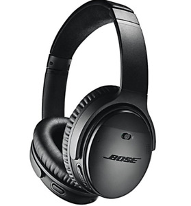 Bose QuietComfort 35 Wireless Headphones, Noise Cancelling, Blac