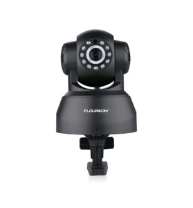 Floureon Wireless security camera can record rotates with app