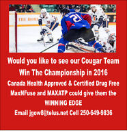 Connect wih us to help PG Hockey Teams win in 2016
