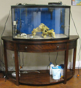40 gallon tank and table for sale