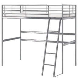 DELIVERY AVAILABLE Single Top Bunk Bed with Desk, drawer and Chair