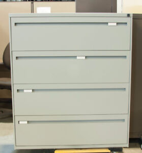 Heavy Duty Secure Four Drawer Filing Cabinet - Retail $849