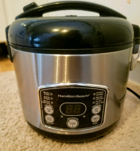 Used Hamilton Beach rice cooker and steamer