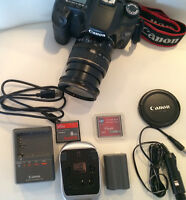 LIKE NEW - CANON 40D, lens kit + Accessories!
