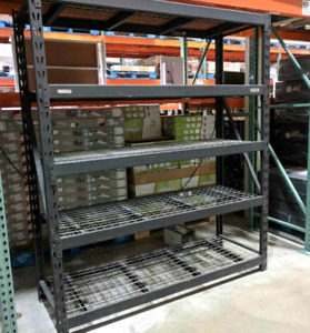 Heavy duty steel rack / shelf