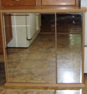NEW Allen + Roth Honey Oak Medicine Cabinet