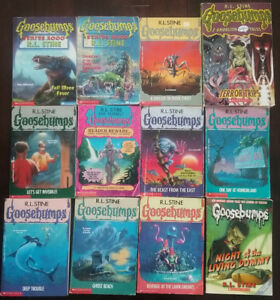 Goosebumps and Shivers Books