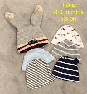Baby Hats - 0-3 months
